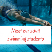 Meet our adult swimming students